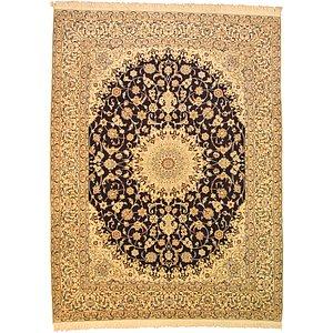 Unique Loom 9' 10 x 13' 1 Nain Persian Rug