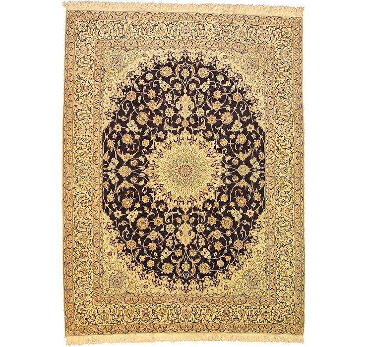 9' 10 x 13' 1 Nain Persian Rug