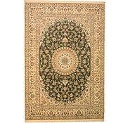 Link to 8' 2 x 11' 11 Nain Persian Rug