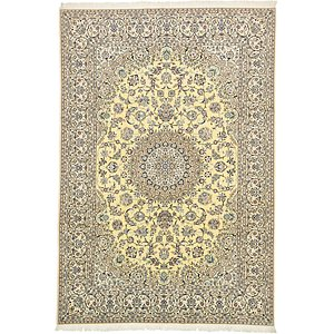 8' x 11' 9 Nain Persian Rug