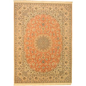 HandKnotted 8' 4 x 11' 5 Nain Persian Rug