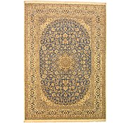Link to 8' 6 x 12' Nain Persian Rug