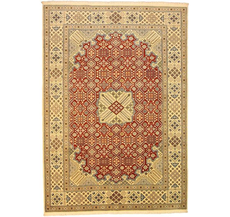 8' x 11' 4 Nain Persian Rug