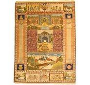 Link to 6' 11 x 9' 1 Tabriz Persian Rug