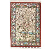 Link to 5' 2 x 7' 8 Qom Persian Rug