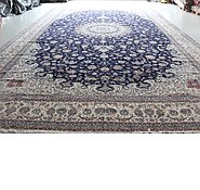 Link to 14' 4 x 23' 11 Nain Persian Rug