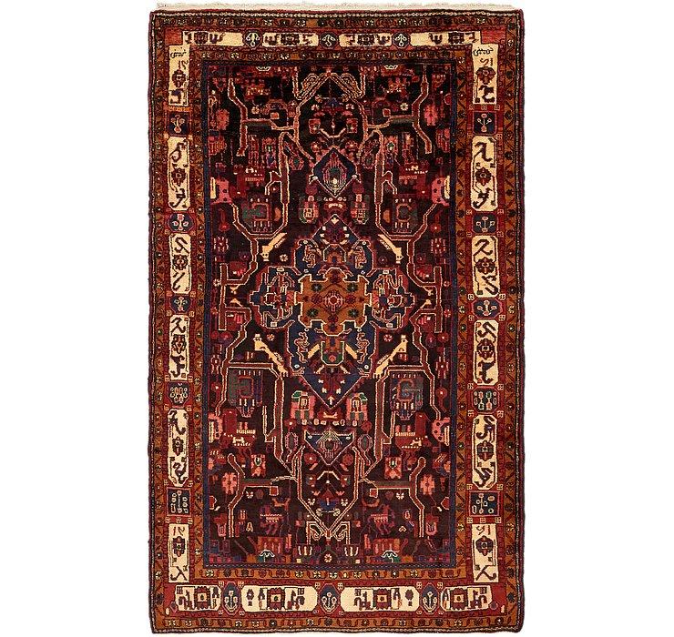5' 3 x 9' 2 Nahavand Persian Rug