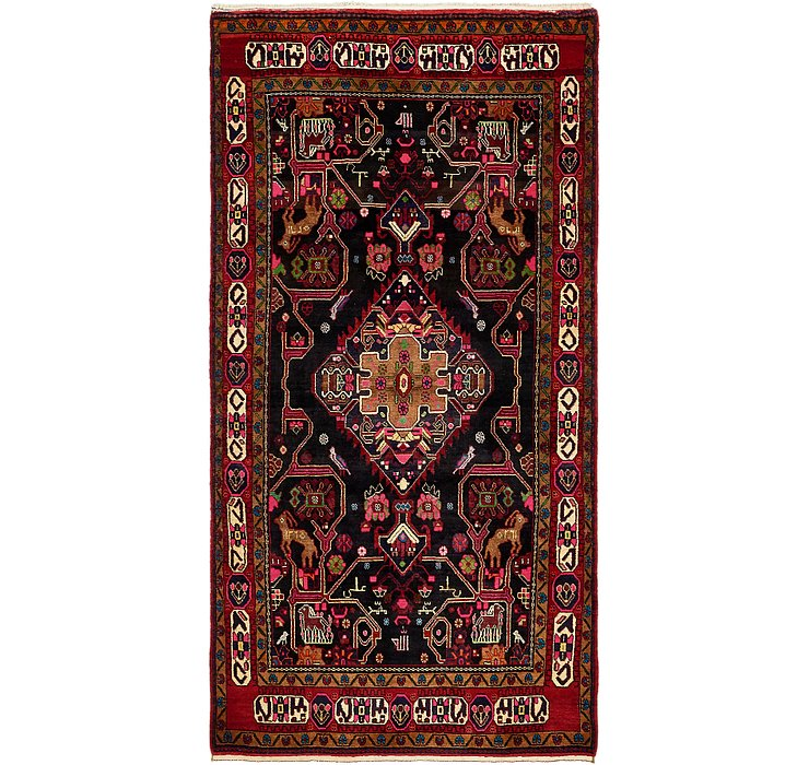152cm x 300cm Nahavand Persian Rug