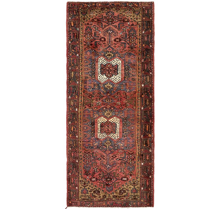 4' x 10' 2 Hamedan Persian Runner ...