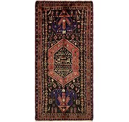 Link to 4' 7 x 10' Hamedan Persian Runner Rug