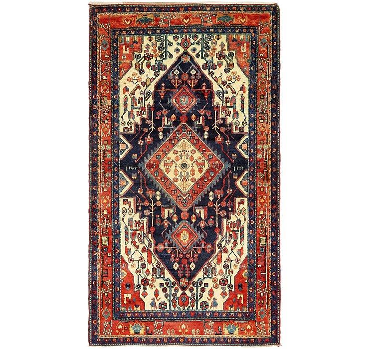 5' 6 x 9' 10 Hamedan Persian Rug