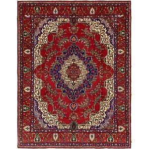 Unique Loom 10' x 13' Tabriz Persian Rug