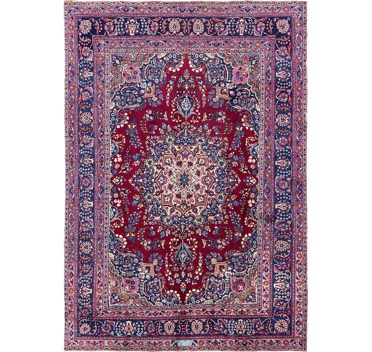 7' 9 x 11' 3 Mashad Persian Rug