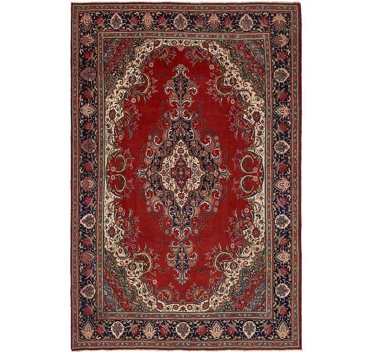 10' 4 x 15' 8 Tabriz Persian Rug