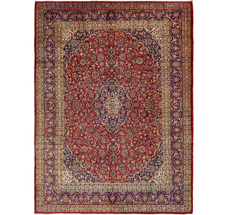 9' 8 x 13' 3 Mashad Persian Rug