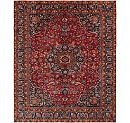 Link to 9' 6 x 11' 3 Mashad Persian Rug