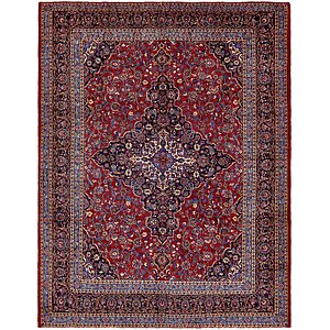 Unique Loom 9' 10 x 13' Mashad Persian Rug