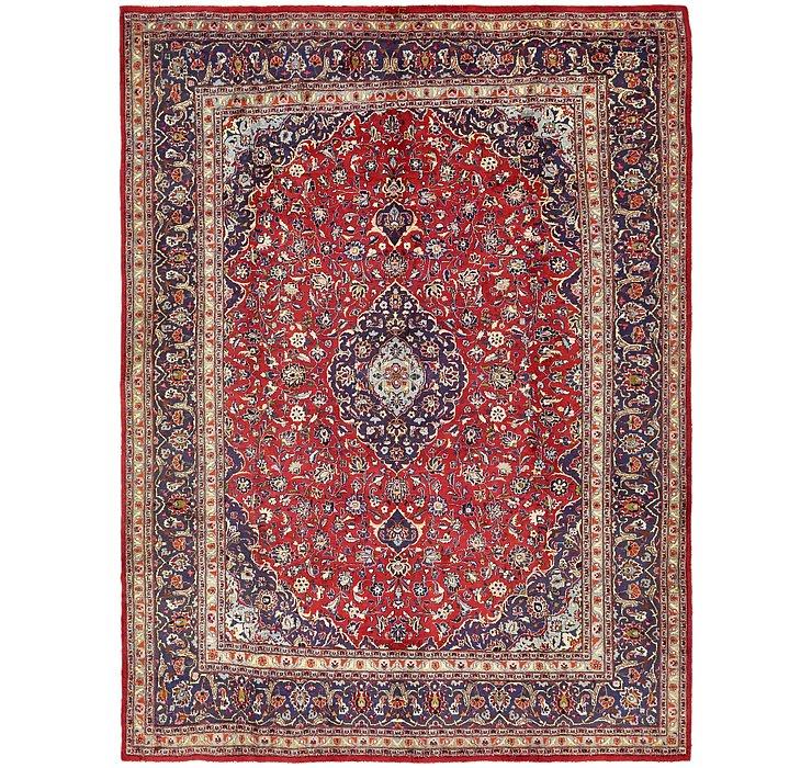 HandKnotted 9' 7 x 12' 10 Mashad Persian Rug
