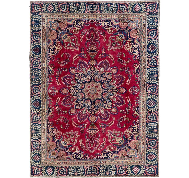 9' x 11' 10 Tabriz Persian Rug