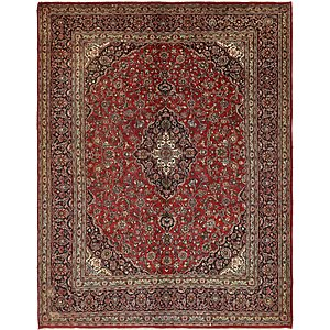 10' x 12' 9 Mashad Persian Rug