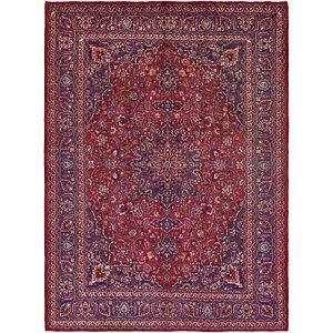 HandKnotted 9' 8 x 13' 2 Mashad Persian Rug