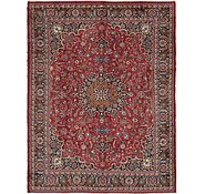Link to 9' 7 x 12' Mashad Persian Rug
