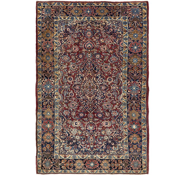 213cm x 335cm Yazd Persian Rug