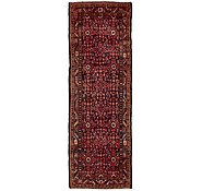 Link to 107cm x 323cm Hossainabad Persian Runner Rug
