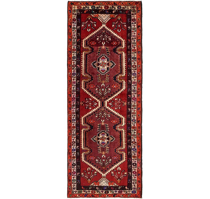 3' 9 x 10' Ardabil Persian Runner ...