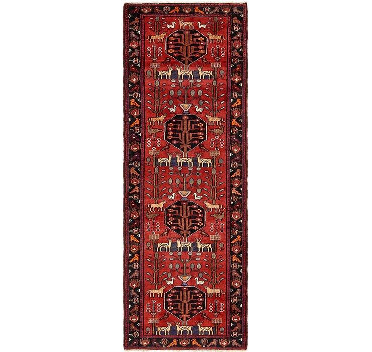 3' 7 x 10' 5 Zanjan Persian Runner Rug