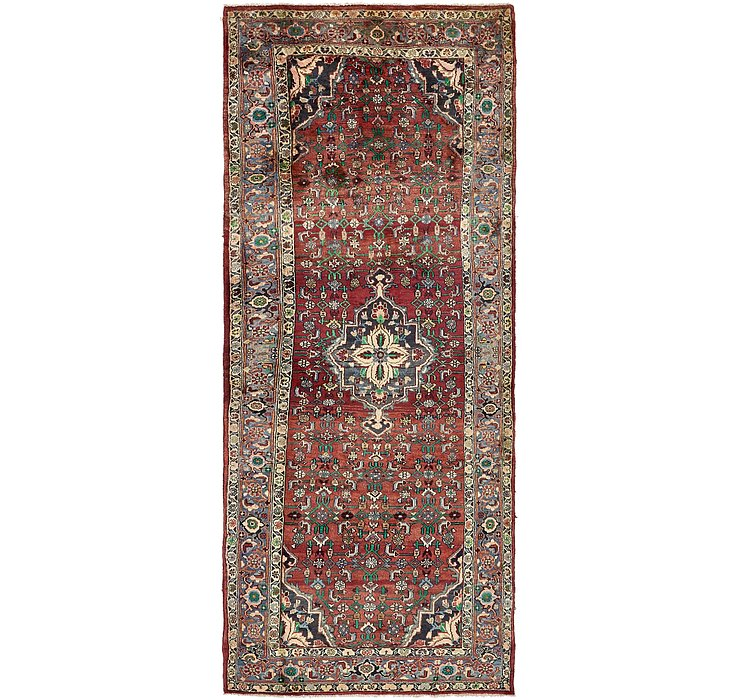 4' 4 x 11' Bidjar Persian Runner Rug