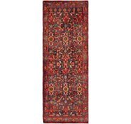Link to 3' 7 x 9' 8 Nanaj Persian Runner Rug