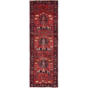 107cm x 307cm Saveh Persian Runner Rug