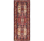 Link to 3' 10 x 9' 11 Meshkin Persian Runner Rug