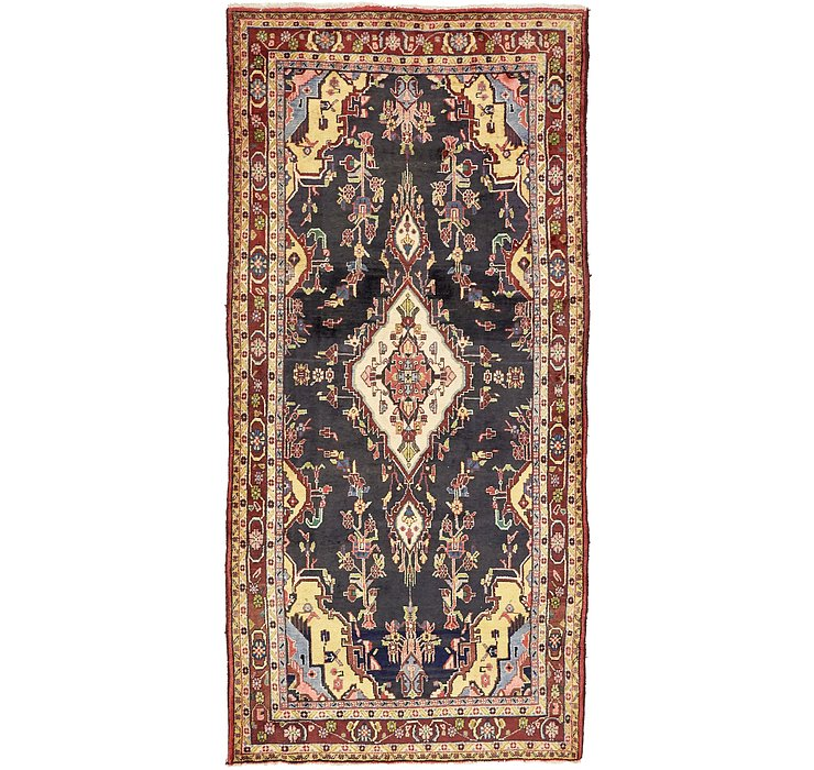 4' 10 x 10' 2 Khamseh Persian Runner ...