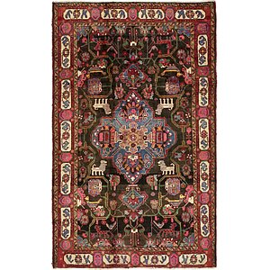 5' 7 x 9' 1 Nahavand Persian Rug