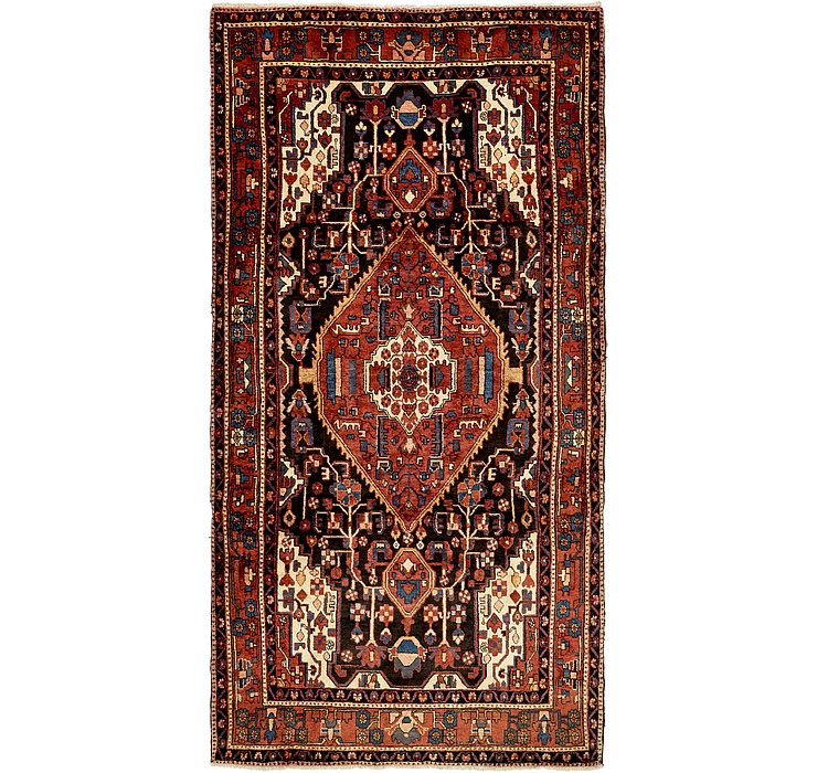 160cm x 300cm Nahavand Persian Rug