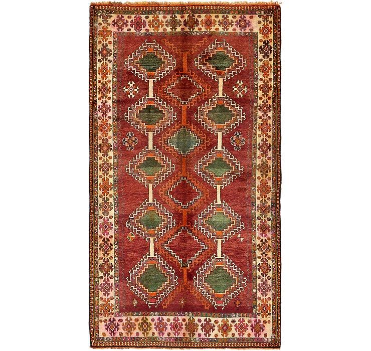5' 2 x 9' 3 Ghashghaei Persian Rug
