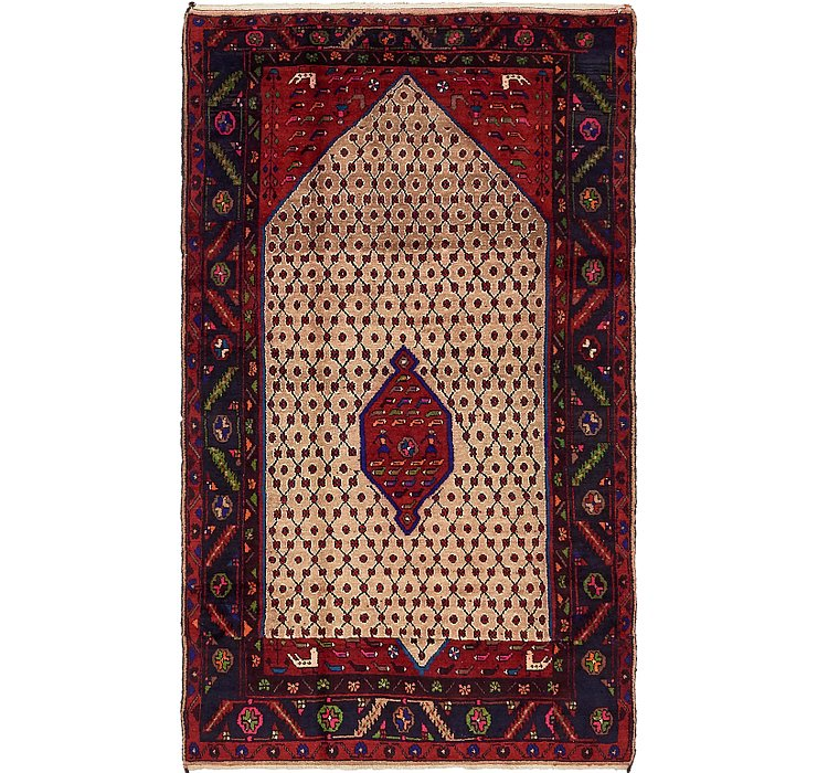 5' x 8' 5 Koliaei Persian Rug