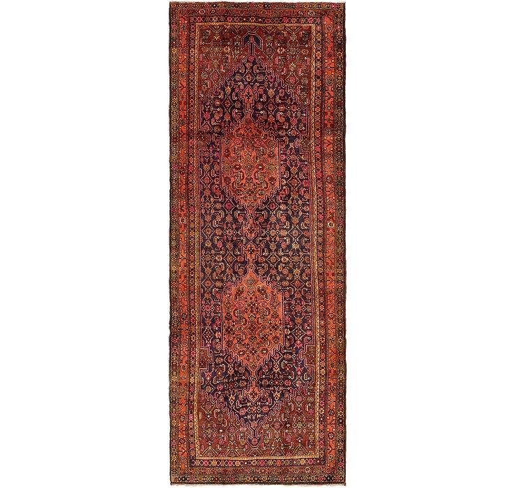 142cm x 395cm Bidjar Persian Runner Rug