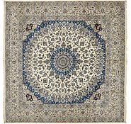 Link to 490cm x 490cm Nain Persian Square Rug