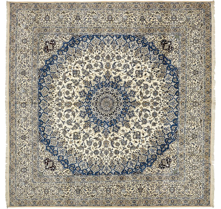 16' 1 x 16' 1 Nain Persian Square Rug