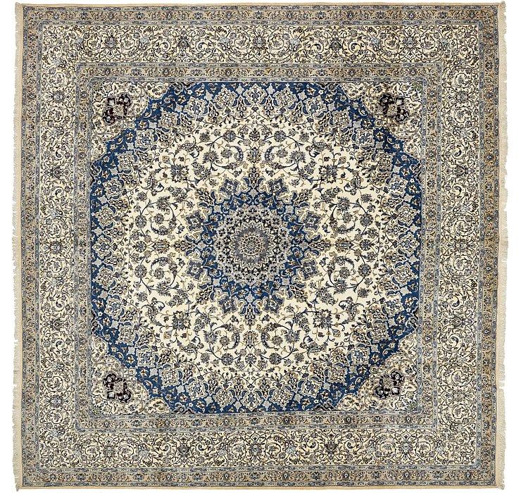 490cm x 490cm Nain Persian Square Rug
