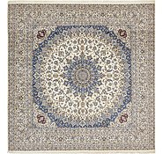 Link to 490cm x 503cm Nain Persian Square Rug