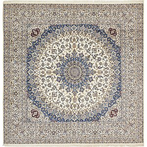 16' 1 x 16' 6 Nain Persian Square Rug