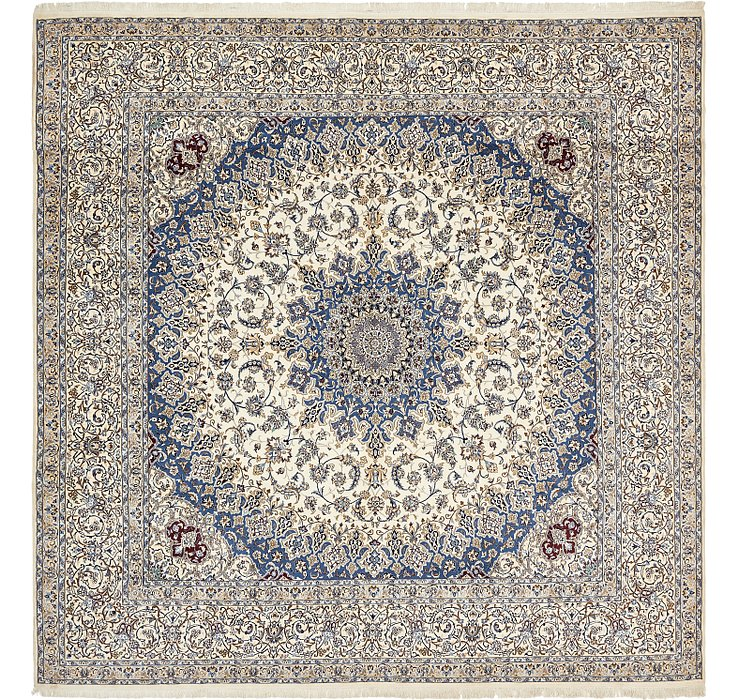 16' 1 x 16' 6 Nain Persian Square Rug