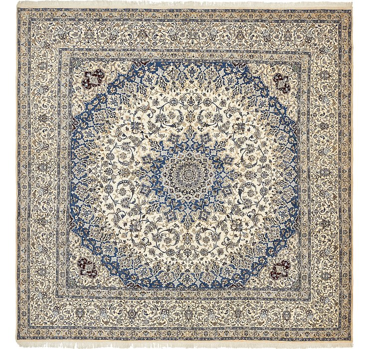 16' x 16' Nain Persian Square Rug
