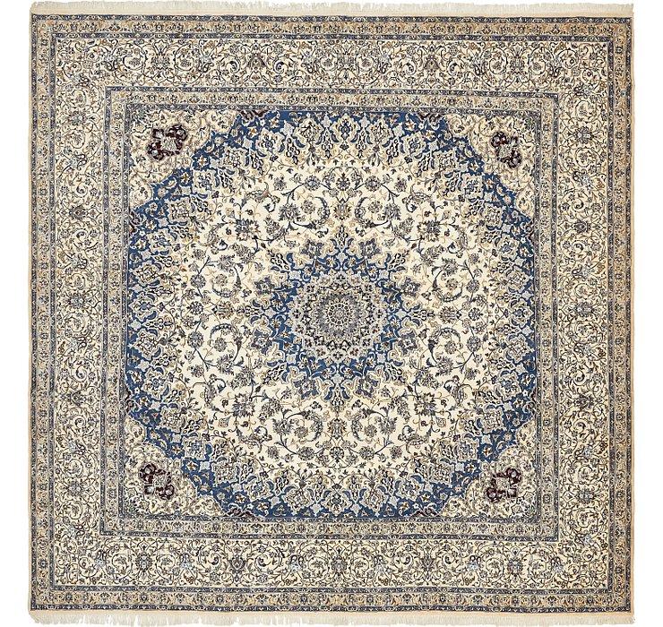 16' x 16' Nain Persian Square Rug