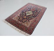 Link to 4' 4 x 6' 10 Kashan Persian Rug