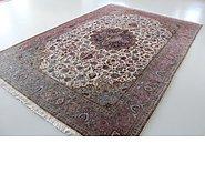 Link to 8' 2 x 11' 4 Tabriz Persian Rug